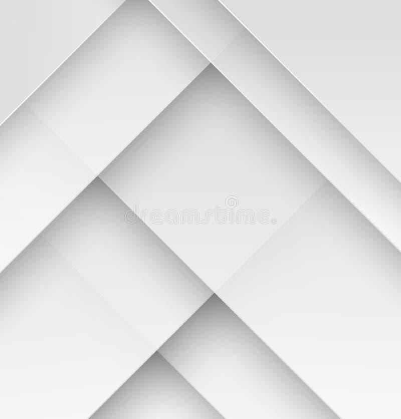 Materiell designtapet för vitbok royaltyfri illustrationer