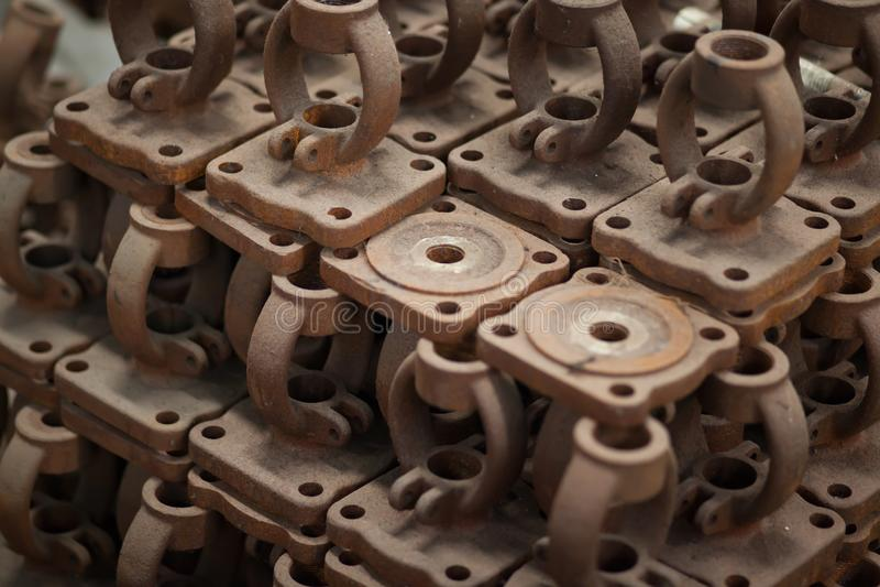 Materiell ventil för industriellt royaltyfri foto