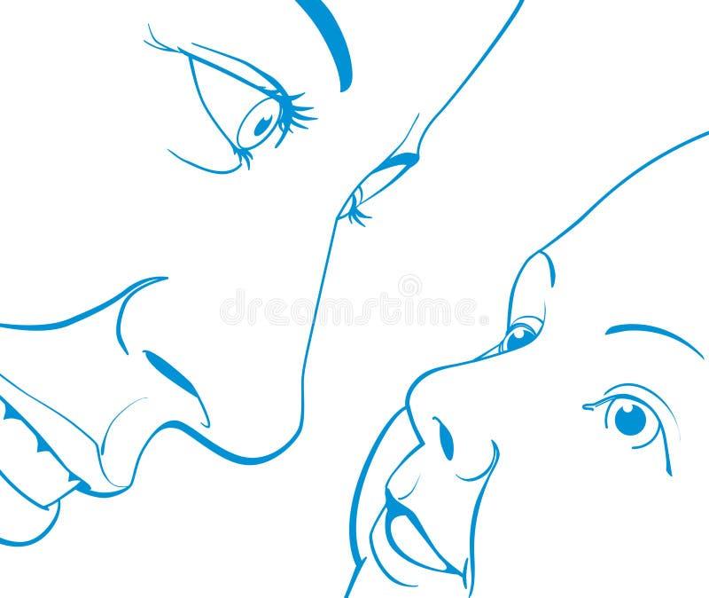 Maternidad stock de ilustración