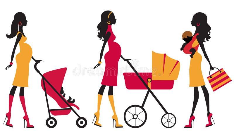 Maternidad de Chcik ilustración del vector