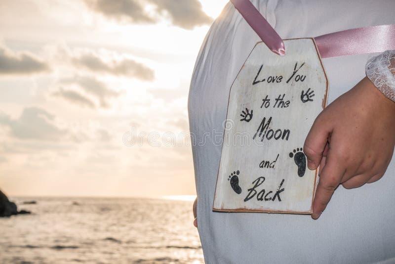 maternidade Mulher imagens de stock royalty free