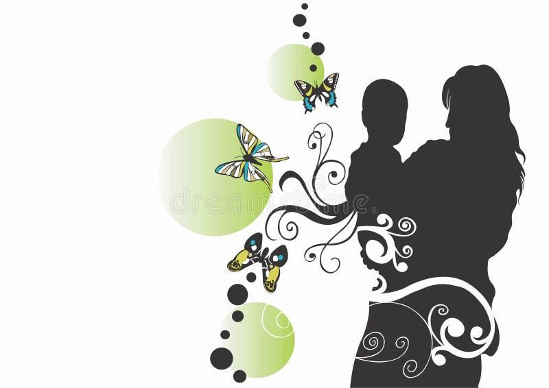 Download Maternité illustration stock. Illustration du décoration - 741987