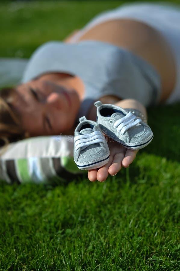 maternity fotografia stock