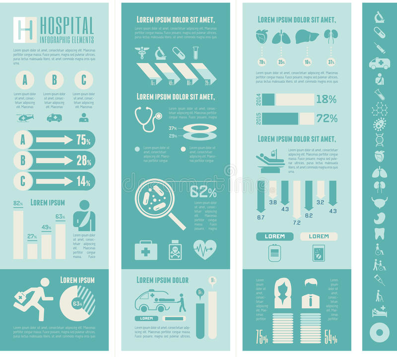 Maternity Infographic Template. Flat Maternity Infographics Elements plus Icon Set. Vector vector illustration