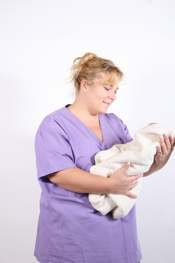 Maternity nurse 2 stock image
