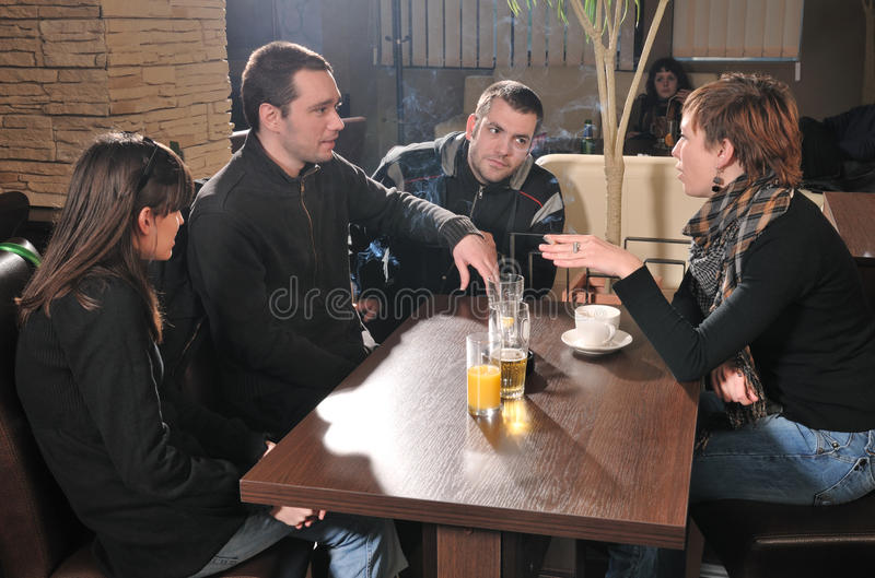 Download Mates stock image. Image of club, coffee, gesture, drink - 17350187