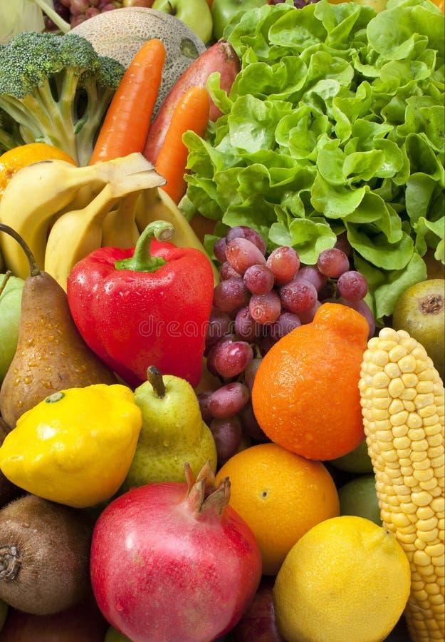 Matfrukt för nya grönsaker royaltyfria foton
