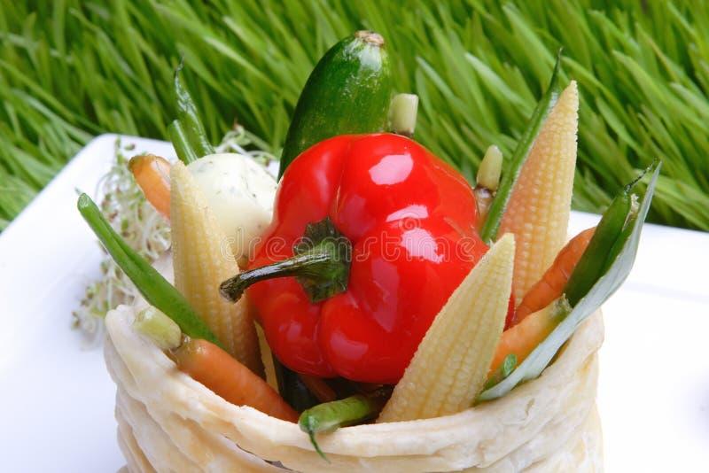 matgallergrönsaker royaltyfri bild