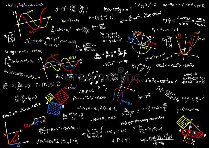Mathématiques illustration libre de droits