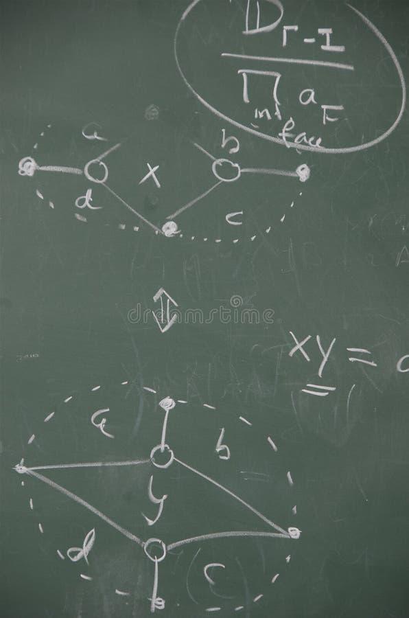 Mathématiques Abstraites Photo libre de droits