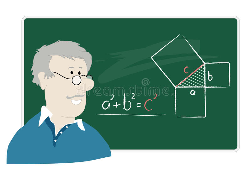 math δάσκαλος ελεύθερη απεικόνιση δικαιώματος