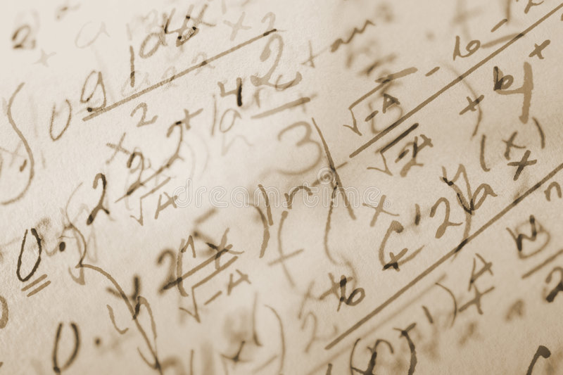 Math background stock images