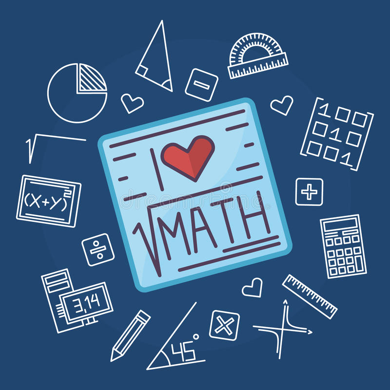 Math Education Vector Background Stock Vector - Illustration of ...