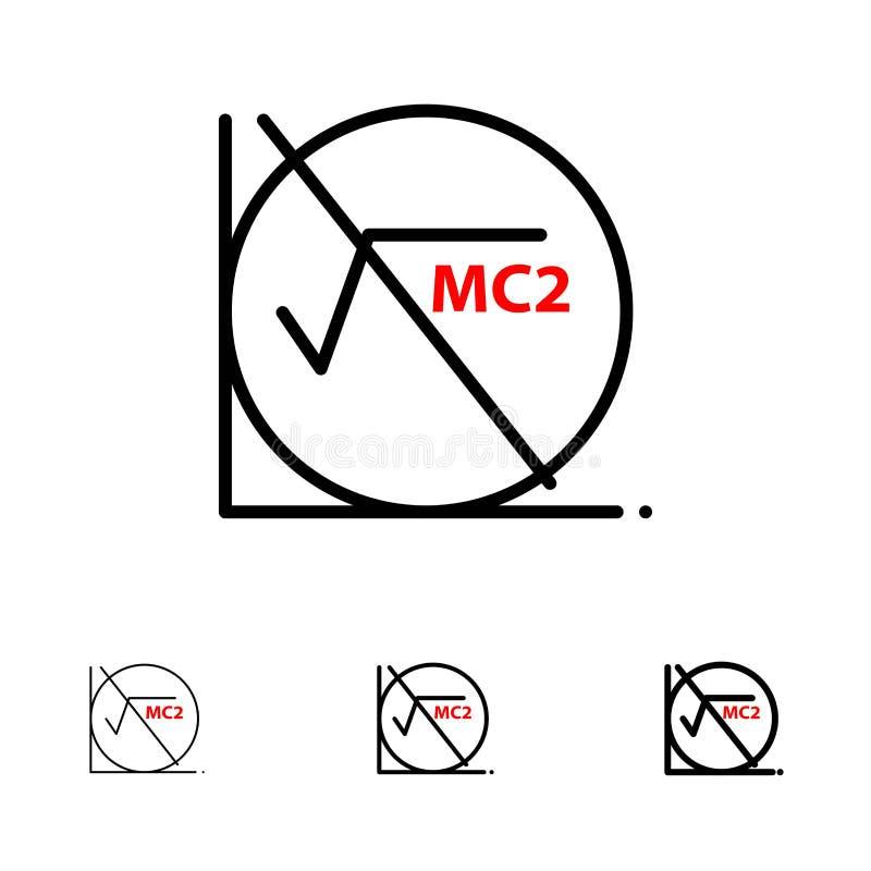 Math, Formula, Math Formula, Education Bold and thin black line icon set stock illustration