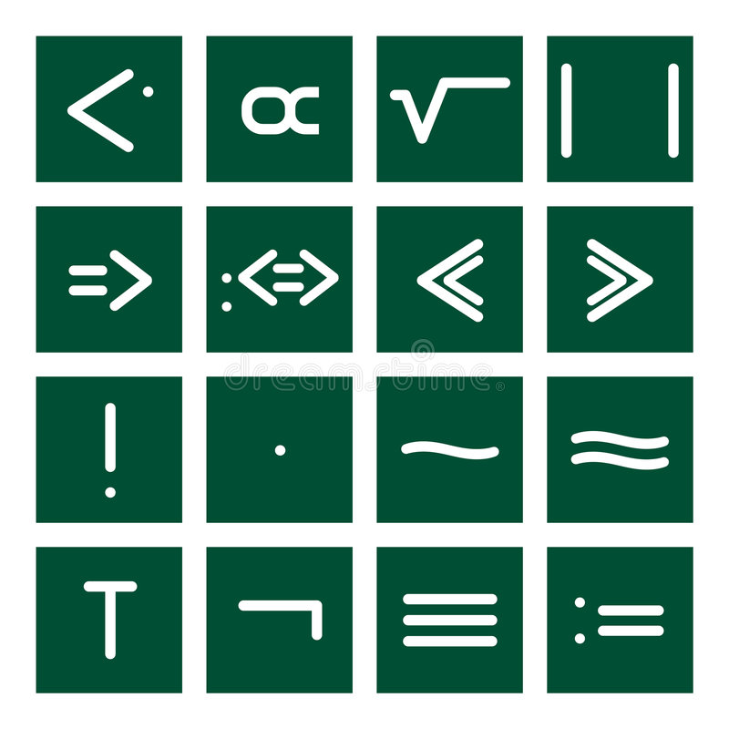 Math Icon Set 4