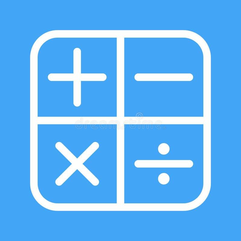 Math Symbols I Stock Vector Illustration Of Algebra 97721982