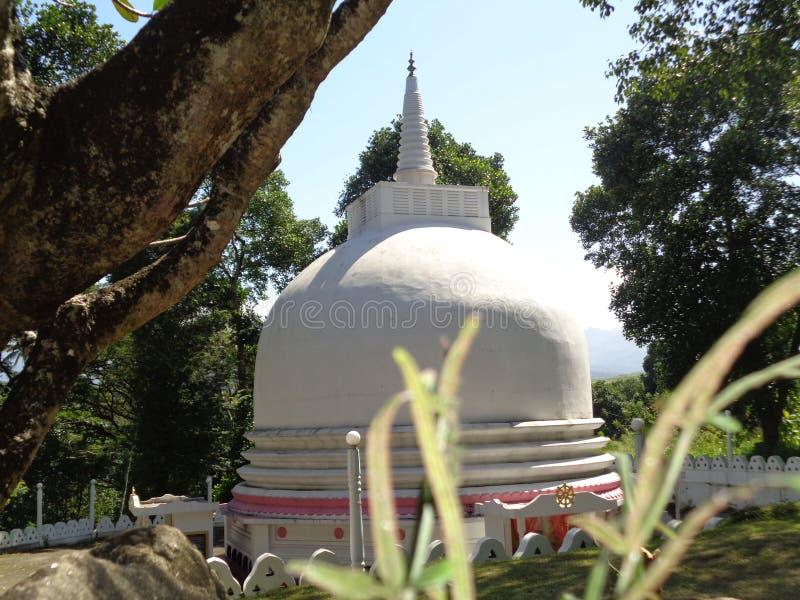 Mathale aluviharaya的斯里兰卡塔 免版税库存照片