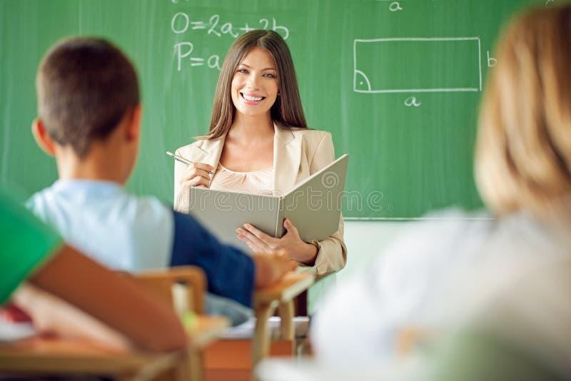 Mathe-Klasse stockbild