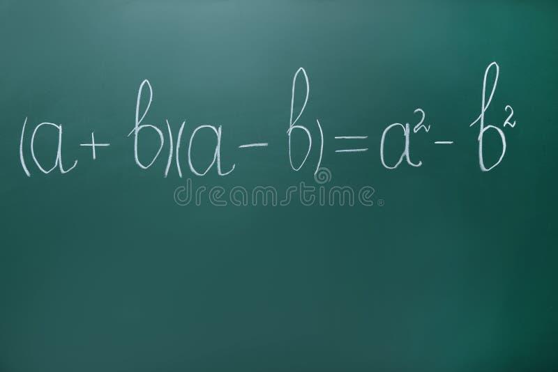 Matheformeln lizenzfreies stockbild