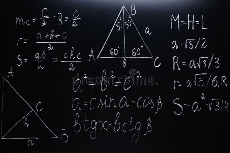 Matheformeln stockbild