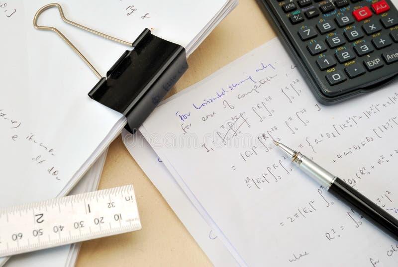 Mathegleichungen stockbilder