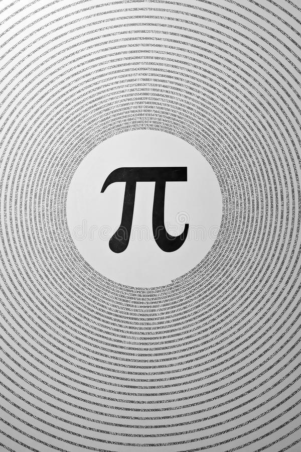 Download The Mathematical Constant Pi Stock Image - Image: 15938151