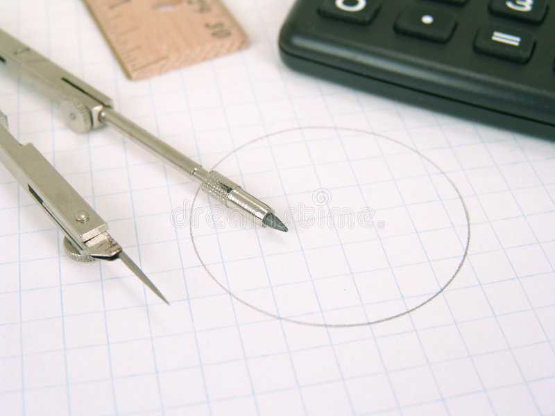 Download Mathematical supplies stock photo. Image of elementary - 4153412