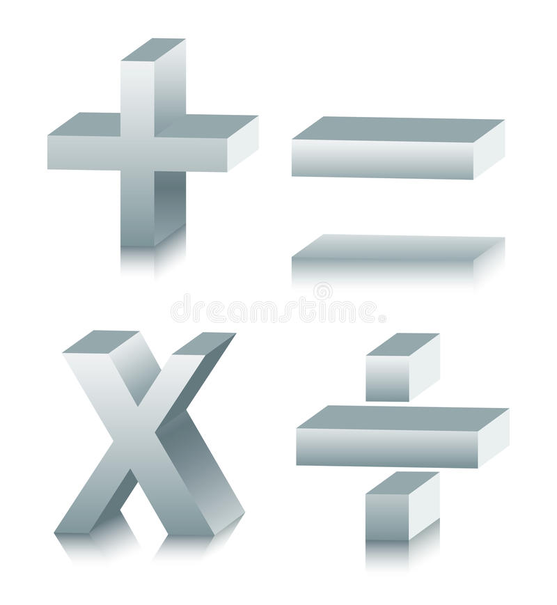Download Mathematical Symbol stock vector. Image of icon, computer - 15062983