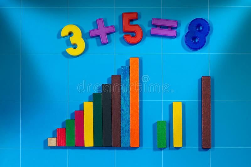 Mathematical Toys For Primary School Stock Image - Image of educate ...