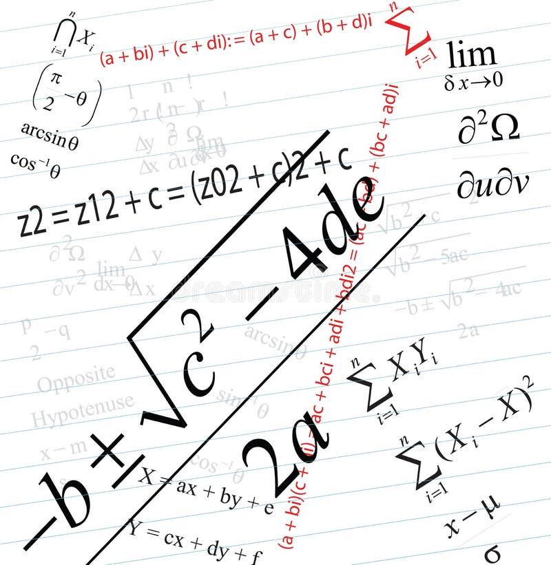 Download Mathematics stock illustration. Image of blackboard, college - 11750794