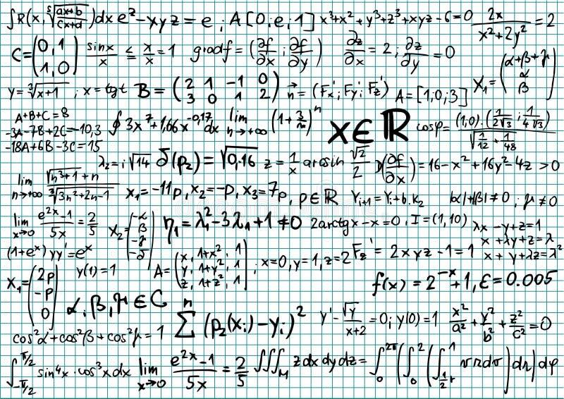 Mathematics stock vector. Illustration of limit, blue - 12091016