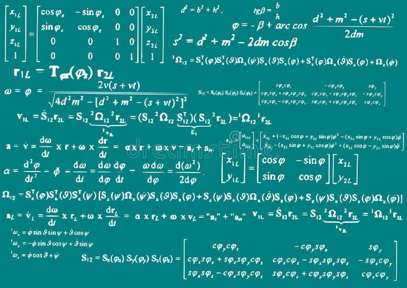 Mathematics royalty free illustration