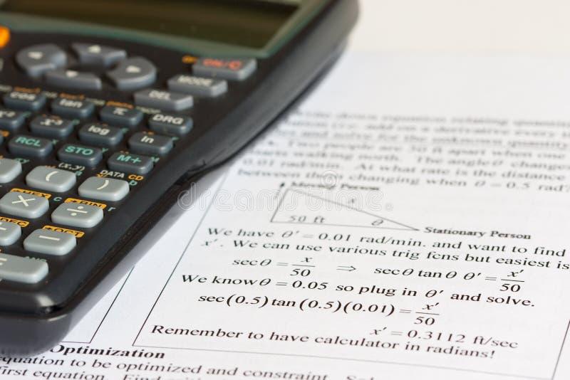 Download Mathematics stock image. Image of calculator, school - 13716789