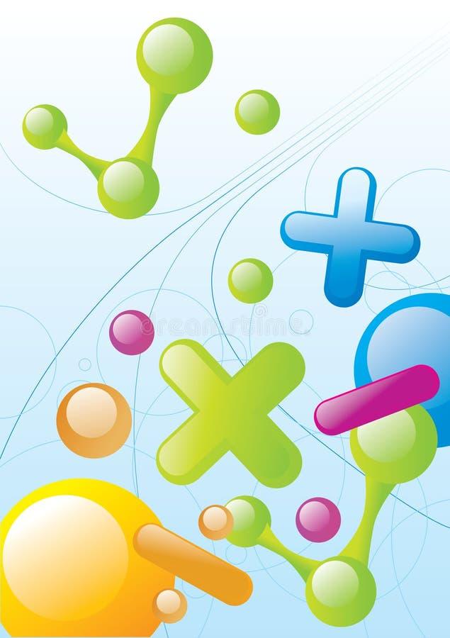 Download Mathematics stock vector. Image of ball, emblem, logo - 6982041