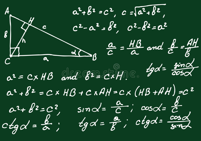Download Mathematics Background Royalty Free Stock Photos - Image: 9207968