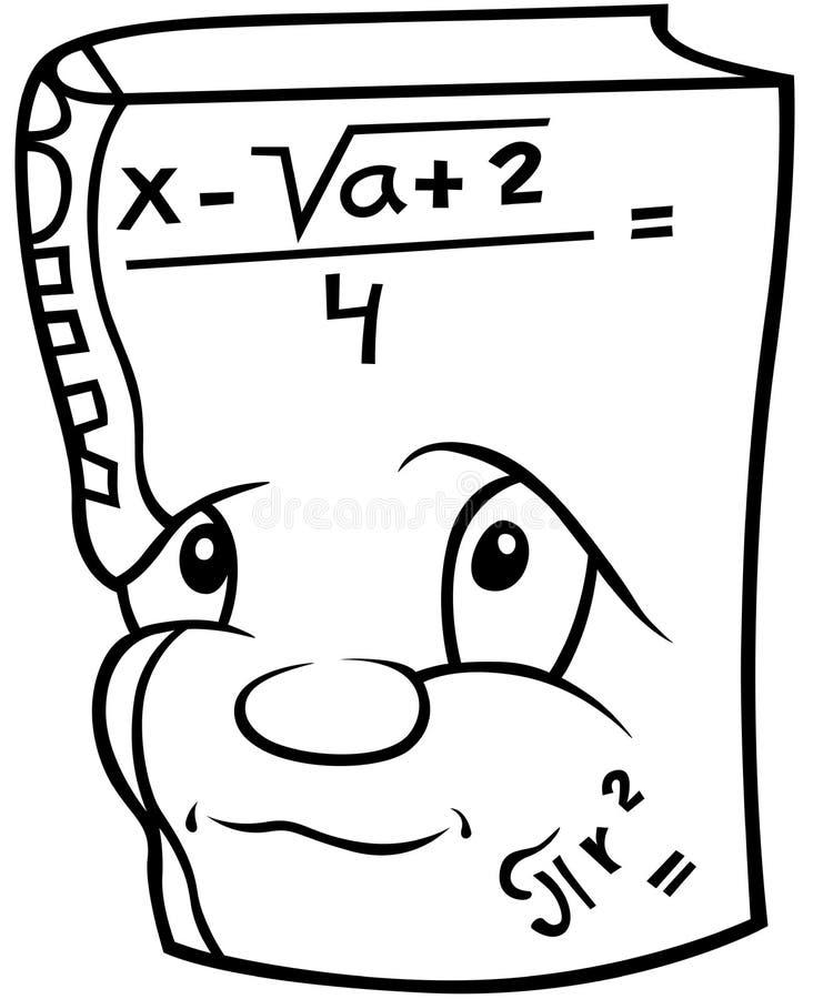 Mathematik-Buch lizenzfreie abbildung