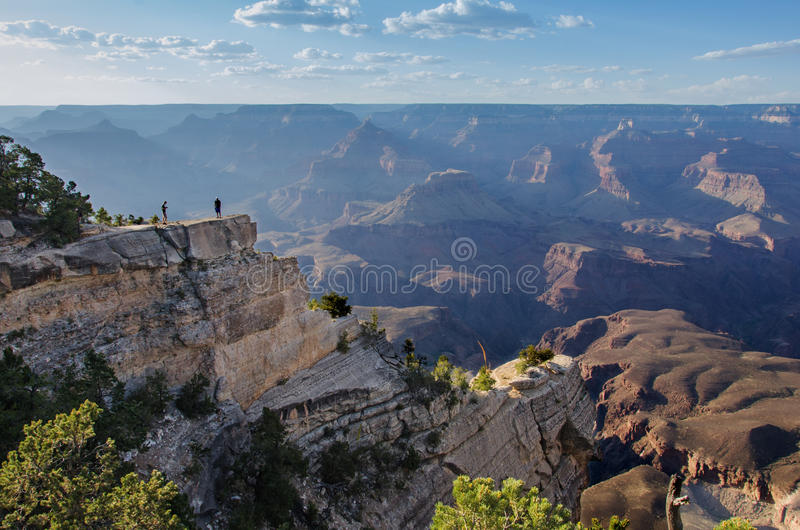Mather εθνικό πάρκο φαραγγιών σημείου μεγάλο στοκ εικόνες