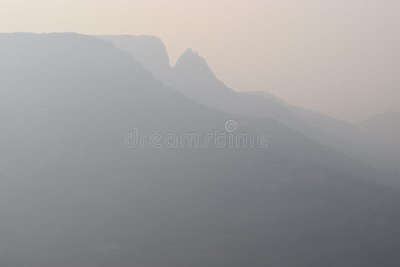 matheran dell'India delle montagne immagine stock
