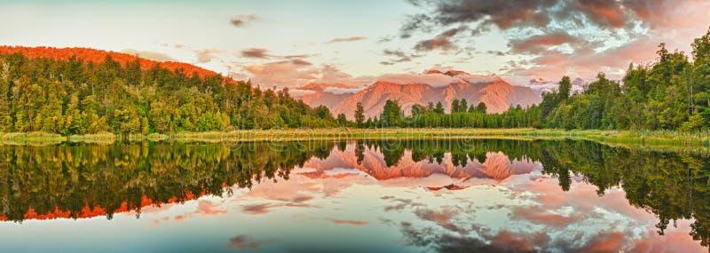 matheson озера стоковое изображение