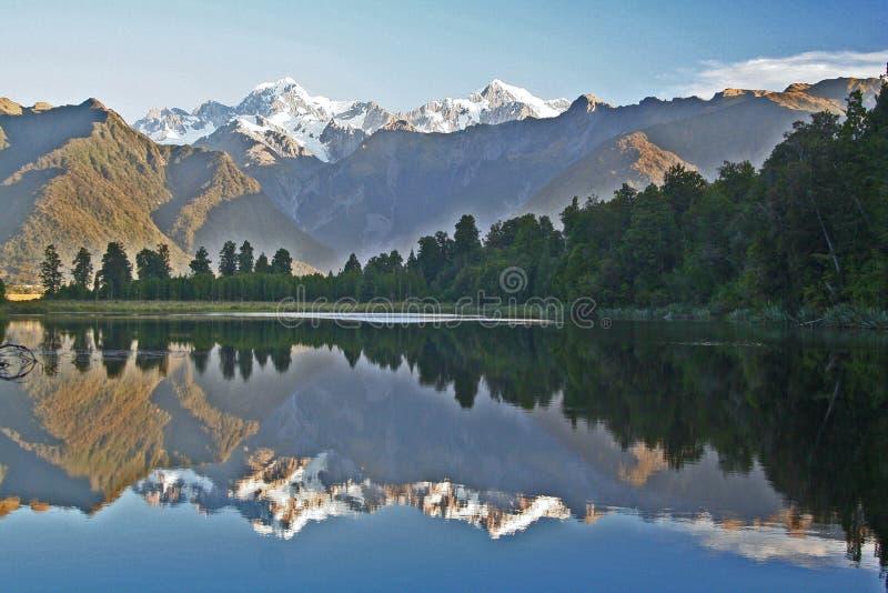 matheson озера стоковое фото rf