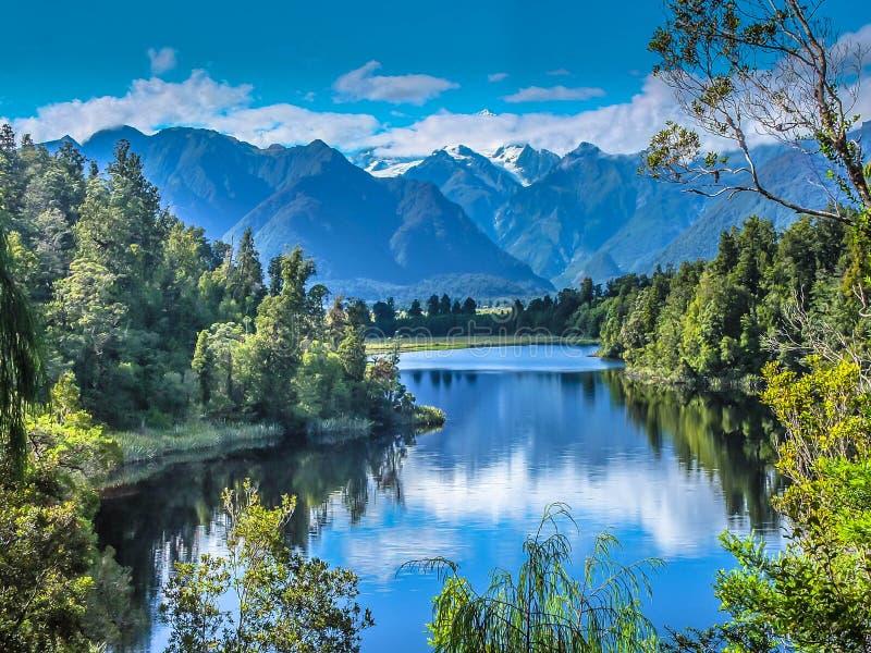 Matheson Lake lizenzfreie stockfotos