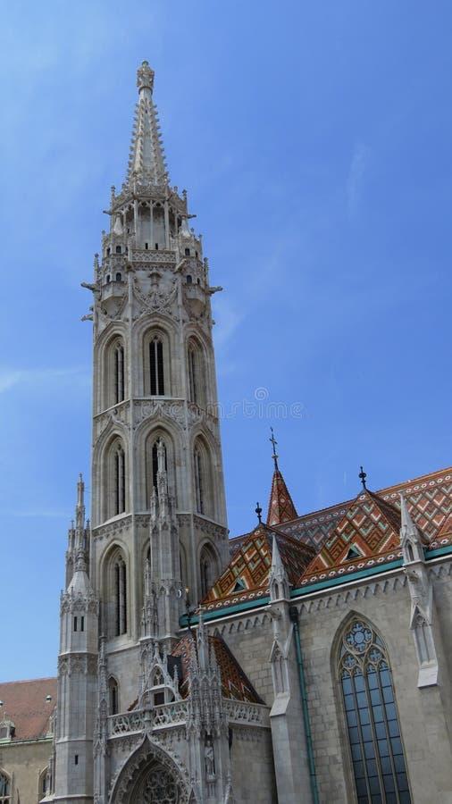 Mathias Cathedral royaltyfri bild