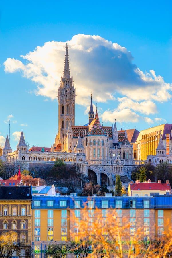 Mathias Cathedral Budapest, Ungern arkivbilder