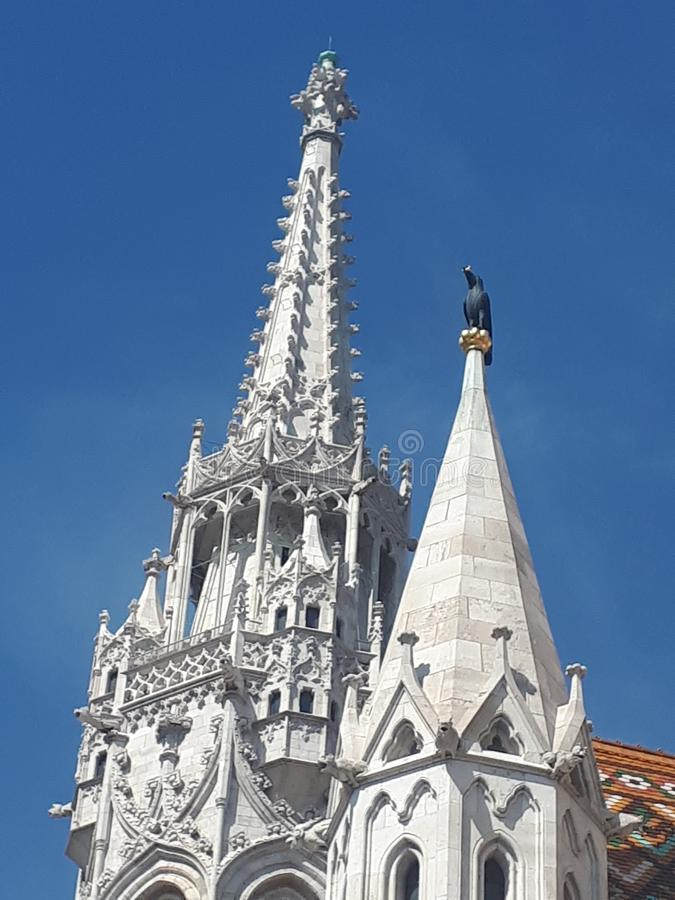 Mathias Church royaltyfri bild