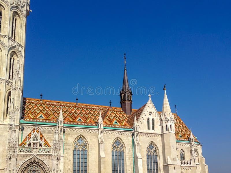 Mathias Church - Budapest, Ungern arkivfoto