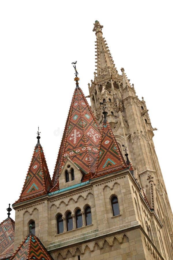 Mathias Church Tower royaltyfri foto