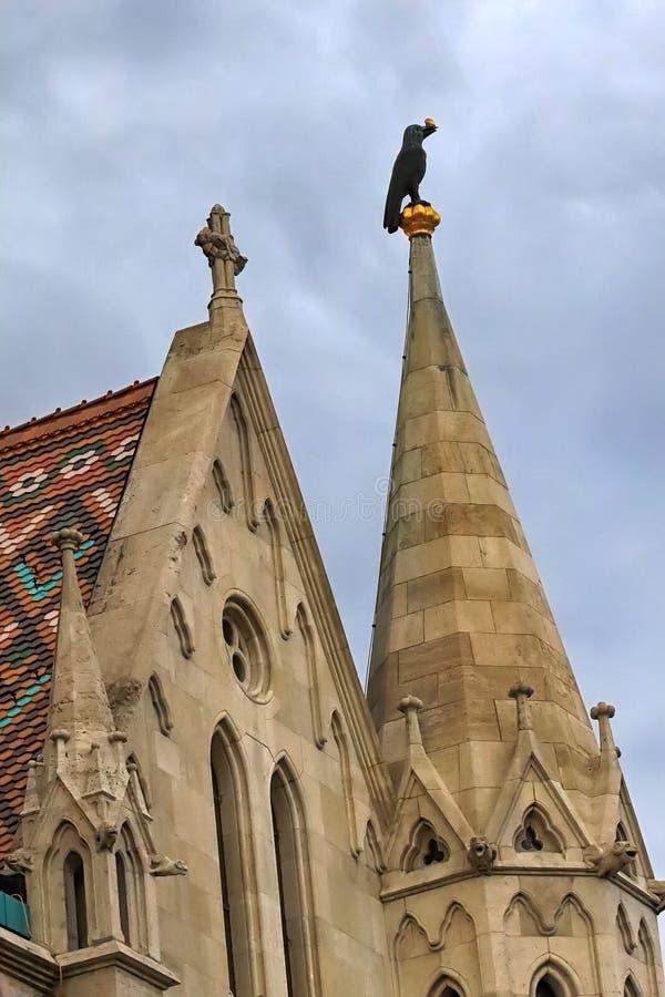 Mathias Church Tower arkivbild