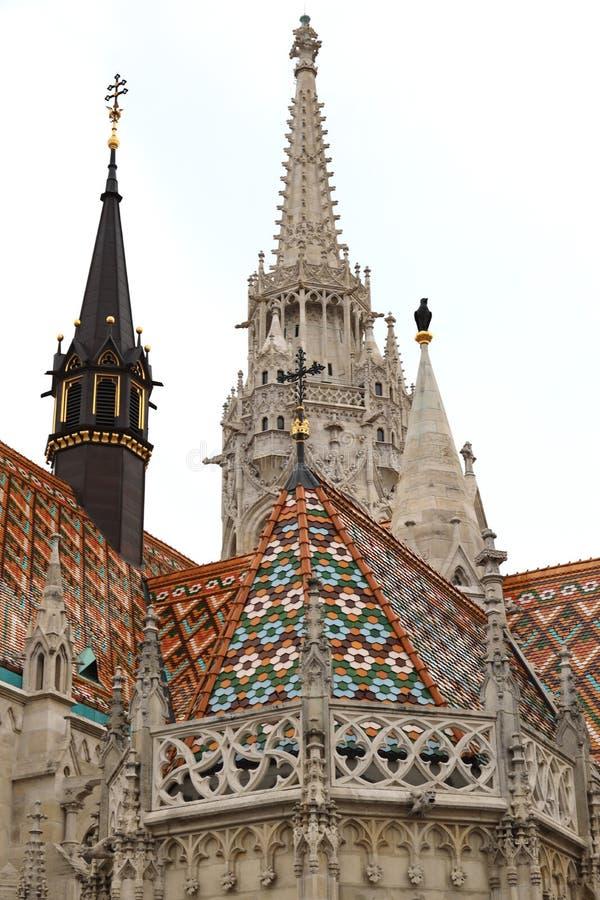 Mathias Church Tower arkivfoton