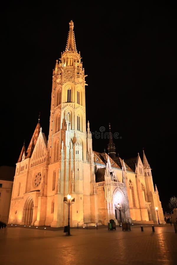 Mathias kyrka Budapest arkivbild