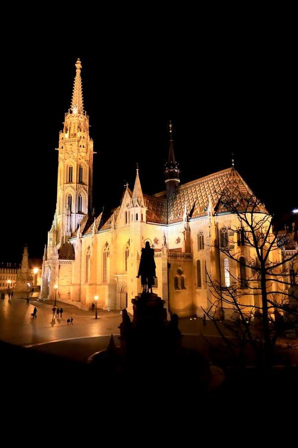 Mathias kyrka Budapest royaltyfria bilder